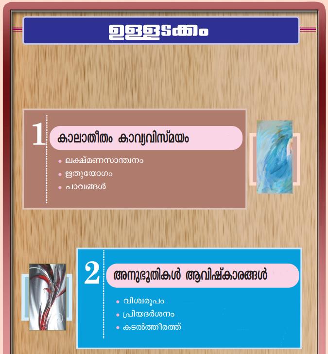 Kerala Padavali Malayalam Standard 10 Guide Solutions Answers Notes Part 1