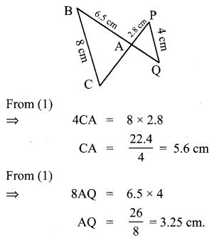 10th Standard Maths Geometry Samacheer Kalvi