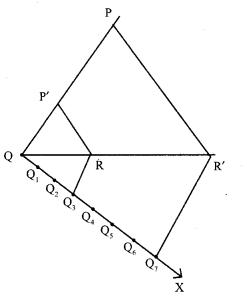 Maths Geometry 10th Samacheer Kalvi Solutions Chapter 4 Ex 4.1