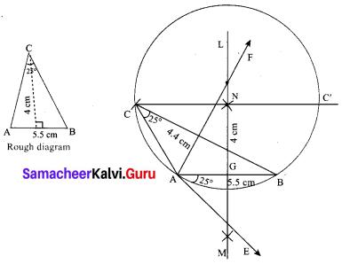 Samacheer Kalvi 10th Maths Chapter 4 Geometry Ex 4.2 20