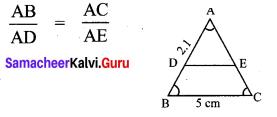 Samacheer Kalvi 10th Maths Chapter 4 Geometry Ex 4.5 7