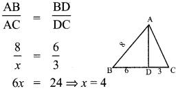 Samacheer Kalvi 10th Maths Chapter 4 Geometry Ex 4.5 8