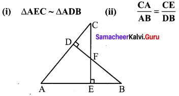 Samacheer Kalvi 10th Maths Chapter 4 Geometry Unit Exercise 4 1