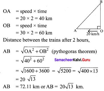 Samacheer Kalvi 10th Maths Chapter 4 Geometry Unit Exercise 4 10