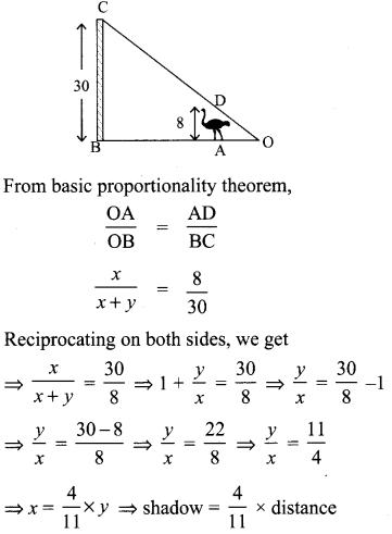 Samacheer Kalvi 10th Maths Chapter 4 Geometry Unit Exercise 4 13