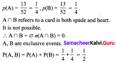 Samacheer Kalvi 10th Maths Solutions Chapter 8 Statistics and Probability Additional Questions 200