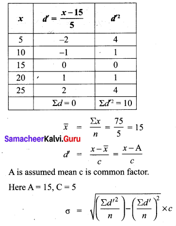 Samacheer Kalvi 10th Maths Solutions Chapter 8 Statistics and Probability Additional Questions 83