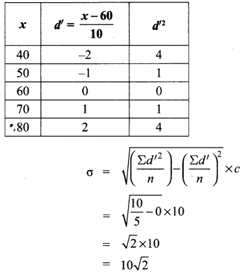 Samacheer Kalvi 10th Maths Solutions Chapter 8 Statistics and Probability Additional Questions 89