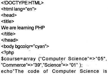 Plus Two Computer Science Notes Chapter 10 Server Side Scripting Using PHP 15