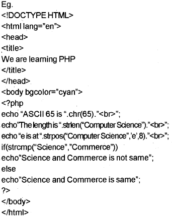 Plus Two Computer Science Notes Chapter 10 Server Side Scripting Using PHP 25